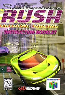 San Francisco Rush - Extreme Racing N64 Instruction Booklet (Nintendo 64 Manual Only - NO GAME) [Pamphlet only - NO GAME INCLUDED] Nintendo