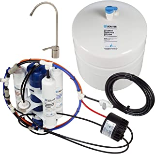 Home Master TMAFC-ERP-L Artesian Full Contact with Permeate Pump Loaded Undersink Reverse Osmosis Water Filter System (Renewed)