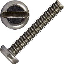 10 unidades Tornillo avellanado con ranura DIN 963 material acero inoxidable V2A//Aisi 304