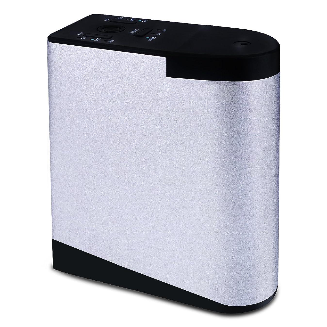 荷物定期的定期的ENERG e's Memory アロマディフューザー メモリー?タイマー機能 ネブライザー式 精油瓶2個スポイト付き T11-EN098