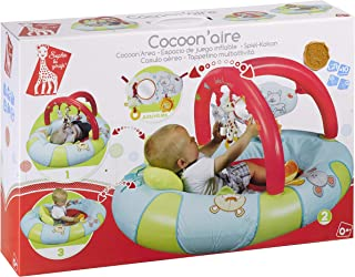Vulli 240112 Early Learning Play Pad with Hoop Sophie The Giraffe