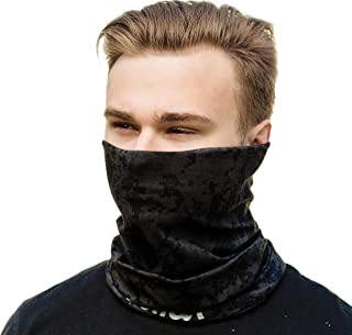 Face Clothing Mask Neck Gaiter - for Protection from Wind Dust and Sun in Any Weather
