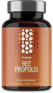 Bee Propolis - Propóleo de abeja - 1000 mg x 180 cápsulas - Complimento alimenticio Natural