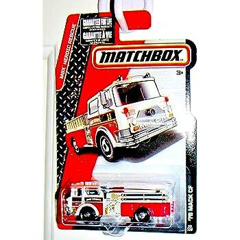 Matchbox Pierce Dash Fire Engine 77//125 Mattel Black 2016 MBX Heroic Rescue