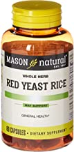 Mason Natural, Red Yeast Rice, 1200 mg, 60 Capsules Bottle (Pack of 3), Herbal Dietary Supplements May Help Maintain Healt...