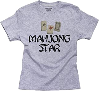 Hollywood Thread Mahjong Star - with Special Chinese Tiles Youth Size T-Shirt
