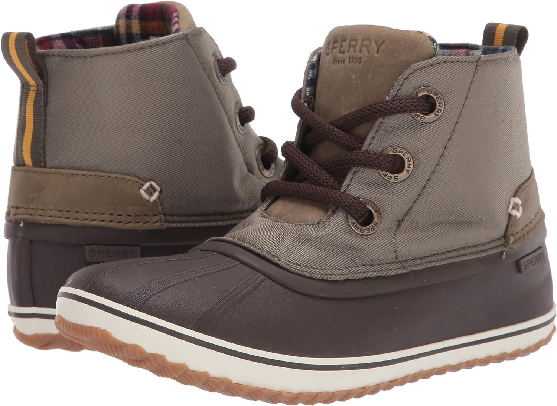 Sperry Men's Schooner 3-Eye Twill Nylon Rain Boot