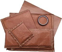 Beada 7 Stks/set 4 Maten Warmte Persen Transfer Kussen Mat Kit met 2 Stks Transfer Sheet en 1 Roll Tape voor Warmte Druk D...
