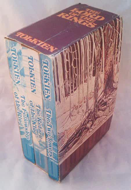 The Lord of the Rings Trilogy Classic 1970s Box Set Edition