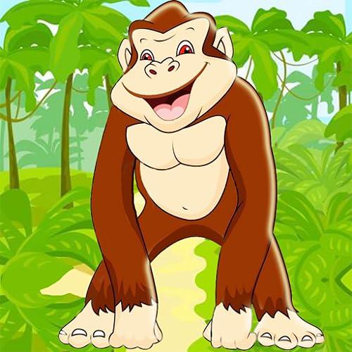 gorila correr 2 juego de la selva