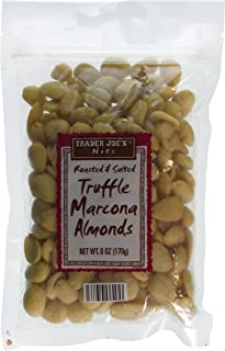 Trader Joes Roasted & Salted Truffle Marcona Almonds