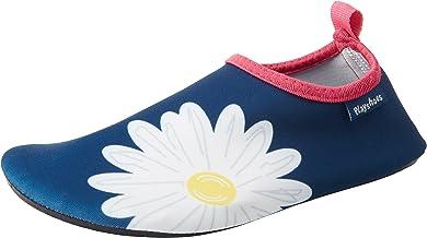 Playshoes Margarite Aqua Badslippers voor kinderen, uniseks