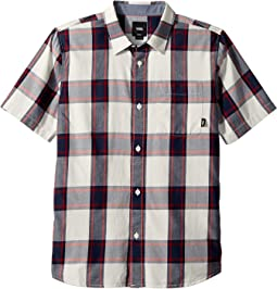 Vans Kids Mayfield Short Sleeve Woven (Big Kids)