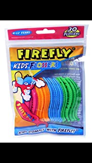 Firefly Kids Flossers - 30 Flossers X 4 Packs (Dr. Fresh Oral Care)