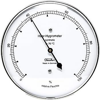 Fischer 122.01 Haar-Hygrometer synthetic, Manufaktur aus Deutschland