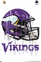 and 12 X 12 Helmet Design Wall Decor Felt Material. One 17 X 30 Large Pennant Design Minnesota Vikings