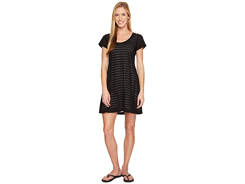 Stonewear Designs Eyelet Dress (Black) Women