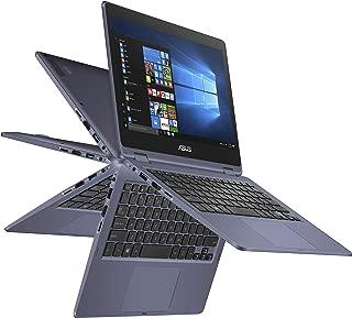 ASUS VivoBook 翻转薄轻型 2 合 1 笔记本电脑 - 11.6 英寸高清触摸屏,英特尔双核赛扬 N3350 CPU,4GB 内存,64GB eMMC 存储,Windows 10 in S 模式,办公室 365 - J202NA-DH01T