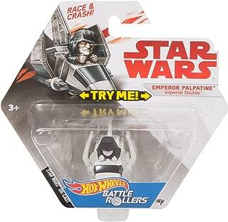 Hot Wheels Star Wars Emperor Palpatine Imperial Shuttle