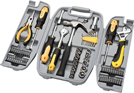 Maleta de ferramentas com 78 peças, Eda, 9GD, Cinza