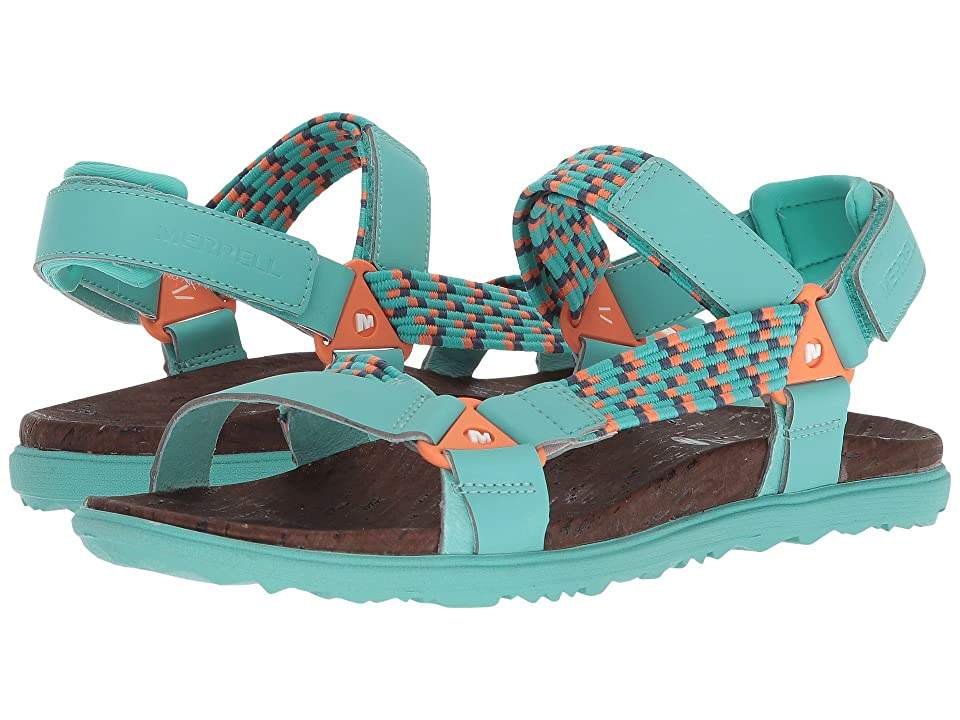 Merrell Around Town Sunvue Woven (Turquoise) Women