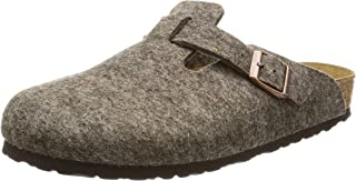Birkenstock Boston Felt Wool Slip On Shoes