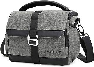 BAGSMART - Bolso bandolera impermeable para cámara de fotos SLR/DSLR.