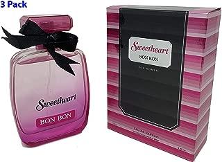 (3Pack) SWEETHEART BON BON Women Perfume 3.4oz Inspired By BOMBSHELL of Vicky