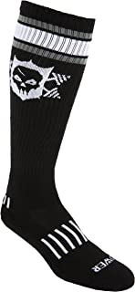 Powerful Power Skull Knee-High Fitness Deadlift Socks
