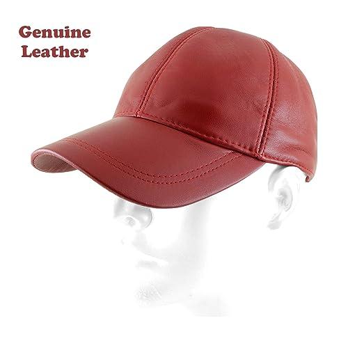 Ha G s Adjustable Genuine Leather Baseball Cap 882dd5acc62