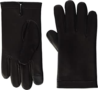 Tommy Hilfiger Deboss Logo Leather Gloves Guantes para Hombre