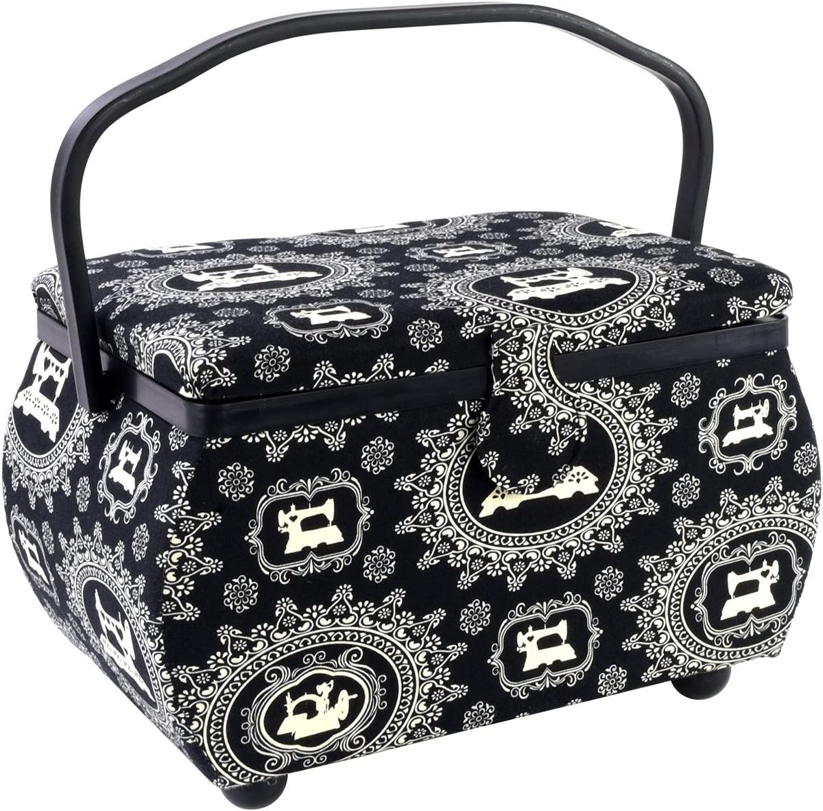 Sewing Basket Rectangle-12.75x7.625x7.75 Machine Max 55% OFF Print High quality new