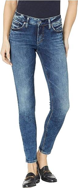 Elyse Mid-Rise Curvy Fit Skinny Leg Jeans in Indigo