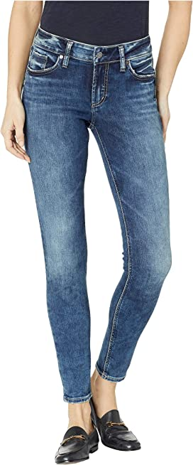 a22dff97 Silver Jeans Co. Suki Mid-Rise Perfectly Curvy Straight Leg Jeans in ...