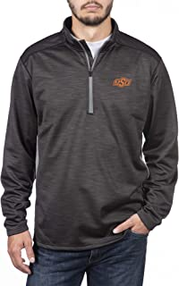 Top of the World NCAA Men's Poly Cross Dye Next Calibur Half Zip