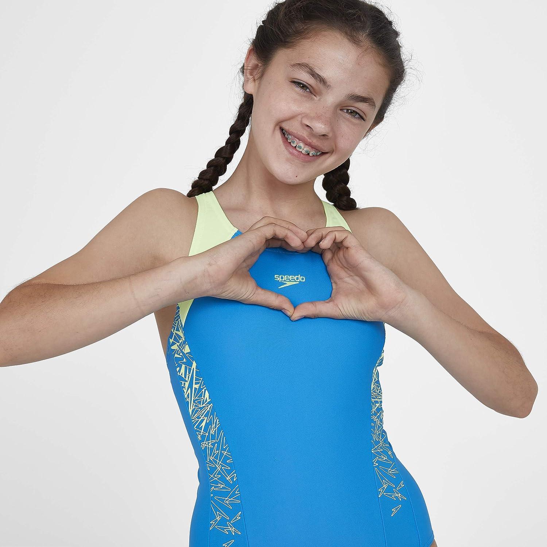 Speedo Boom Splice Muscleback Ba/ñador Junior Girls