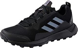 adidas Men's TERREX Two Parley Trail Running Shoes, Core Black/Grey/Crystal White