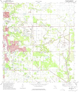 YellowMaps Bee Ridge FL topo map, 1:24000 Scale, 7.5 X 7.5 Minute, Historical, 1973, Updated 1975, 26.8 x 22.9 in