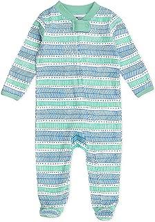 HonestBaby Baby Organic Cotton Footed Sleep & Play Pajamas
