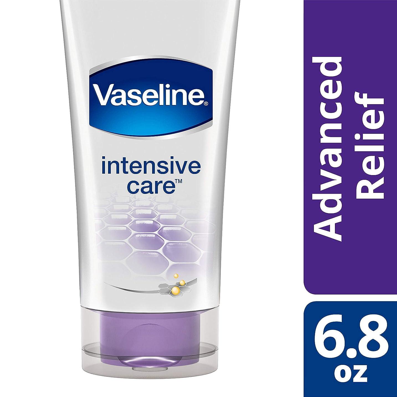 物理学者しっとり文房具Vaseline Intensive Care Healing Serum, Advanced Relief - 6.8 fl oz (200 ml) ヴァセリン インテンシブケア ヒーリングセラム アドバンスドリリーフ