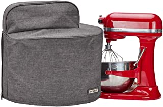HOMEST Stand Mixer Cover Fit for Bowl Lift 5-8 Quart Grey