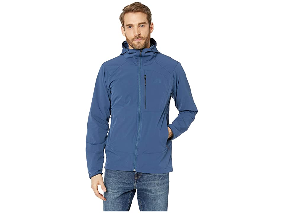 The North Face North Dome Stretch Wind Jacket (Shady Blue) Men
