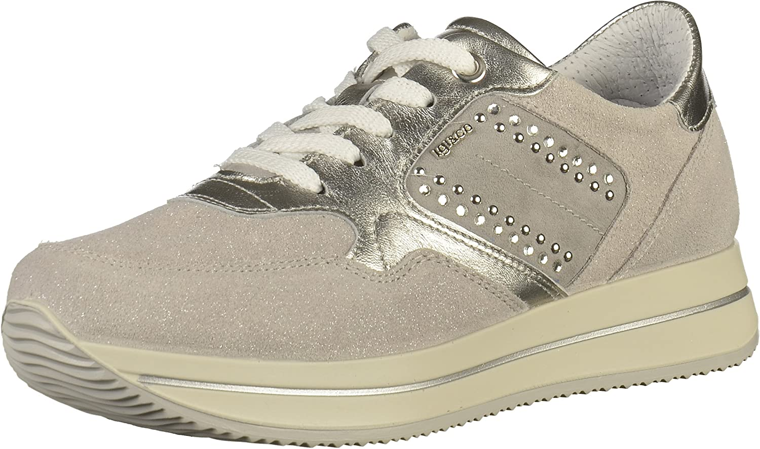 IGI&CO shoes Woman Low Sneakers 1154211 Silver