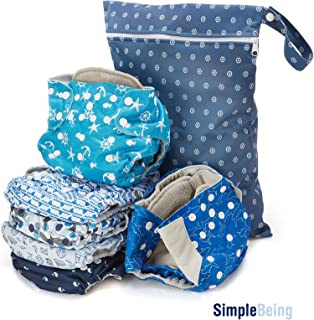 double gusset pocket diapers