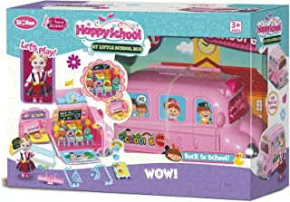 Basmah School Bus Doll Set 32-1801916