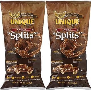 Unique Pretzel Splits, Original, (Two - 11 Oz. Bags)