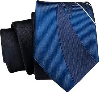 Dubulle Narrow Tie Skinny Slim Necktie 1 Piece Solid Color Mens Tie