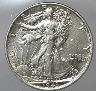 Various Mint Marks Walking Liberty Half dollar XF