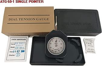 VTSYIQI ATG-50-1 Dial Tension Gauge meter tester Tensionmeter Gram Force Meter Single Pointer 50G