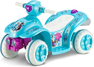 Kid Trax Frozen 6V Toddler Quad Ride On, Blue